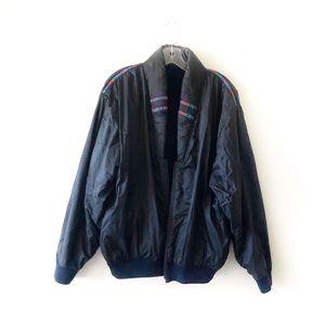 VINTAGE • 80's • italian reversible puffer jacket